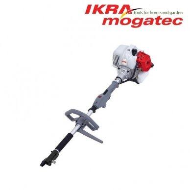Benzininis universalus Ikra Mogatec sodo priežiūros prietaisas IBKH 33, 4in1 5
