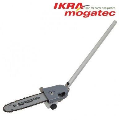 Benzininis universalus Ikra Mogatec sodo priežiūros prietaisas IBKH 33, 4in1 2