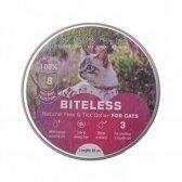 BITELESS Kačių antiparazitinis antkaklis, silikoninis, 38 cm