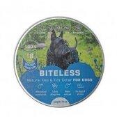 BITELESS Šunų antiparazitinis antkaklis, silikoninis, 70 cm