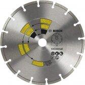 BOSCH Deimantinis pjovimo diskas 230mm Univesal
