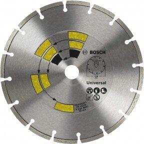 BOSCH Deimantinis pjovimo diskas 115mm Univesal