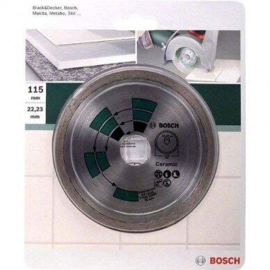 BOSCH Deimantinis pjovimo diskas 115mm Tiles