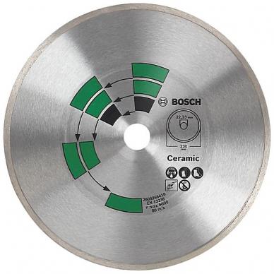 BOSCH Deimantinis pjovimo diskas 125mm Tiles