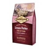 CARNILOVE Salmon&Turkey for Kittens 2 kg