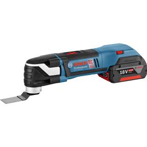 Daugiafunkcinis multifunkcinis įrankis Bosch GOP 18 V-EC + priedai