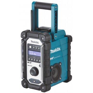 DAB+ radijas Makita DMR110, 7,2-18 V