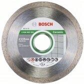 Deimantinis pjovimo diskas Bosch keramikai 115mm; 22,23mm