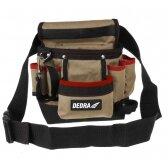 Įrankių diržas DEDRA N0032 vientisas 20x10x30cm, 8 kišenės