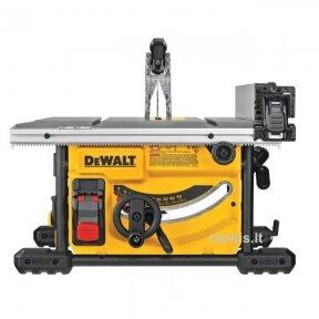Diskinio pjovimo staklės DeWALT DWE7485, 210 mm, 1,85 kW (pakeitė seną modelį DW745)