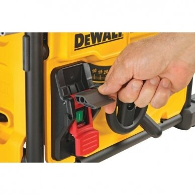 Diskinio pjovimo staklės DeWALT DWE7485, 210 mm, 1,85 kW 9