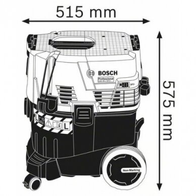 Dulkių siurblys Bosch GAS 35 L SFC Professional 3