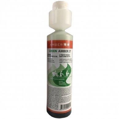 Dvitaktė alyva Amber-line, žalia, 2T, 250 ml