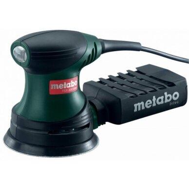 Ekscentrinis šlifuoklis Metabo FSX 200 Intec