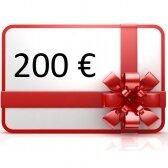 Elektroninis dovanų kuponas apsipirkti rankis.lt, vertė 200 €