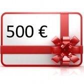 Elektroninis dovanų kuponas apsipirkti rankis.lt, vertė 500 €