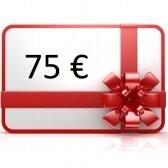 Elektroninis dovanų kuponas apsipirkti rankis.lt, vertė 75 €