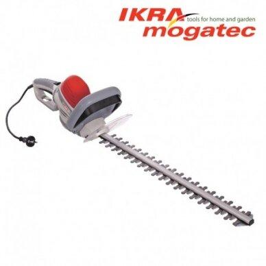 Elektrinės gyvatvorių žirklės 650 Watt Ikra Mogatec IHS 650