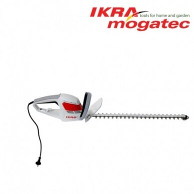 Elektrinės gyvatvorių žirklės Ikra Mogatec 580 Watt Easy trim IHS 580