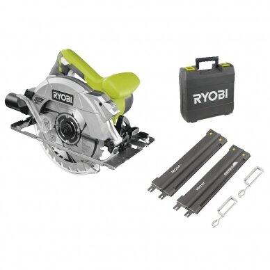 Elektrinis diskinis pjūklas Ryobi RCS1600-KSR, 1600W, 190mm