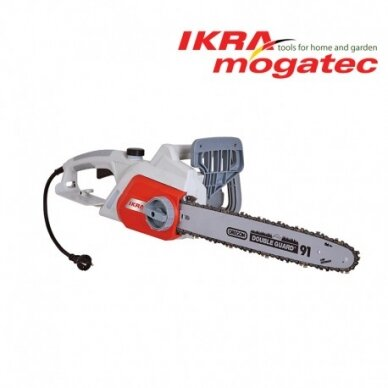 Elektrinis grandininis pjūklas 2,2 kW Ikra Mogatec IECS 2240 TF