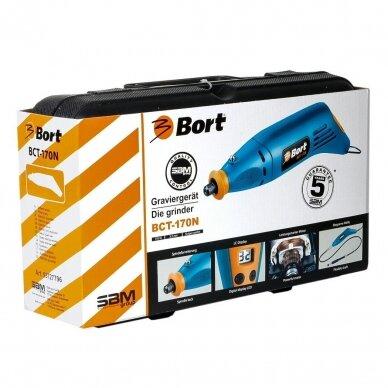 Elektrinis graveris Bort BCT-170N su priedais ir lanksčiu velenu 5