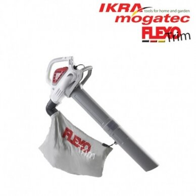 Elektrinis lapų pūstuvas/surinkėjas 2.6 kW Flexo Trim LSN 2600 E