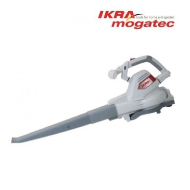 Elektrinis lapų pūstuvas / surinkėjas 3 kW Ikra Mogatec ILS 3000 E 2
