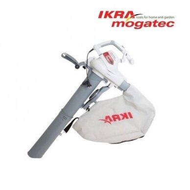 Elektrinis lapų pūstuvas / surinkėjas 3 kW Ikra Mogatec ILS 3000 E