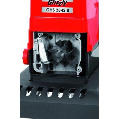 Elektrinis šakų smulkintuvas 2800W Grizzly GHS 2842 B 6