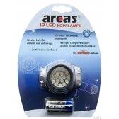 """Galvos žibintuvėlis """"ARCAS"""" 19 LED"""