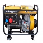 GENERATORIUS DYZELINIS STAGER YDE6500E3 380V