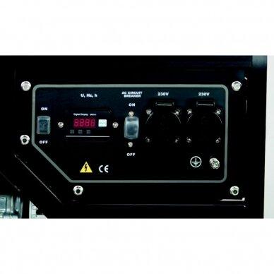 Generatorius SG 3500 Honda, Scheppach 2