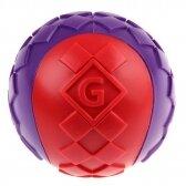 GIGWI Šunų žaislas Kamuolys, cypiantis, raudonas, L