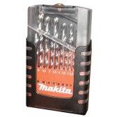 Grąžtų komplektas 19 vnt. (1-10mm) metalui HSS-G Makita D-29941