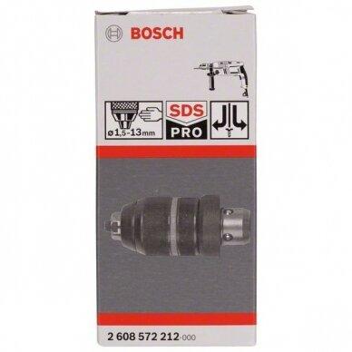 Greitai fiksuojamas grąžto griebtuvas su adapteriu Bosch (GBH 2-26 DFR, 2608572212) 2