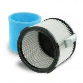 HEPA filtras ir putų filtras DEDRA DED66042 dulkių siurbliui (tinka DED6604)