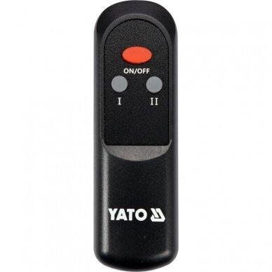 Infraraudonųjų spindulių šildytuvas su pulteliu Yato YT-99532, 2000W 4