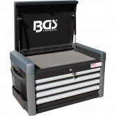 Įrankių dėžė BGS-technic, 4 stalčiai,  tuščia