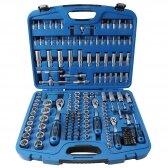 """Įrankių rinkinys, 12-kampės galvutės BGS-TECHNIC 1/4"""" + 3/8"""" + 1/2"""", 192 VNT"""