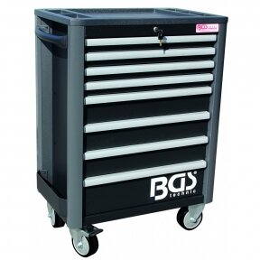 Įrankių spintelė BGS-technic, 8 stalčiai, tuščia