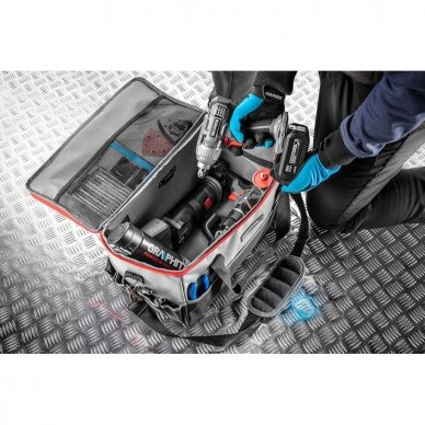 Įrankių krepšys Graphite 58G021 (tinka akumuliatoriniams įrankiams) 2