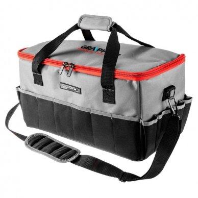 Įrankių krepšys Graphite 58G021 (tinka akumuliatoriniams įrankiams)
