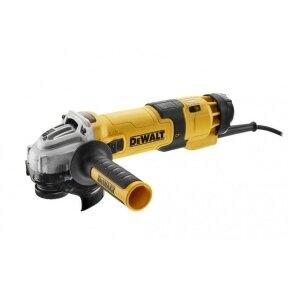 Kampinis šlifuoklis DeWalt DWE4257-QS, 1.5 kw, 125 mm