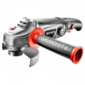 Kampinis šlifuoklis Graphite 59G206, 2400 W, 230mm