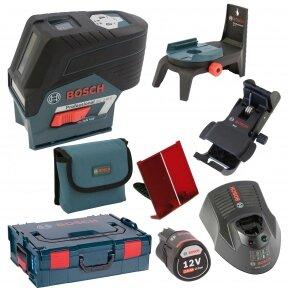Kombinuotasis lazeris Bosch GCL 2-50 C +RM2+1x2.0Ah