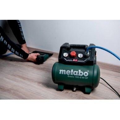 Kompresorius Basic 160-6 W OF oil free, Metabo 5