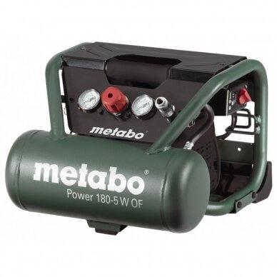 Kompresorius Power 180-5 W OF, oilfree, Metabo