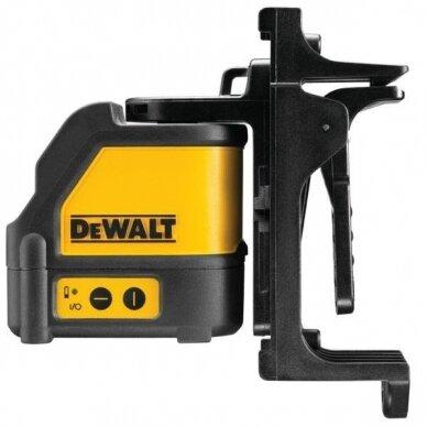 Kryžminis lazerinis nivelyras Dewalt DW088KD + imtuvas Dewalt DE0892 6