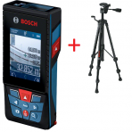 Lazerinis atstumo matuoklis Bosch GLM 120 C + BT 150
